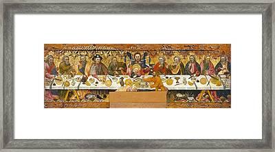 Ferrer, Jaume 15th Century. The Last Framed Print by Everett