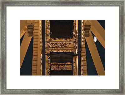 Ferris Framed Print by Joseph Yarbrough