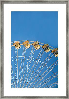 Ferris Wheel 2 Framed Print by Rebecca Cozart