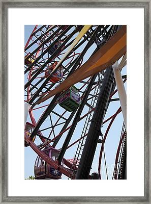 Ferris Wheel - 5d17604 Framed Print