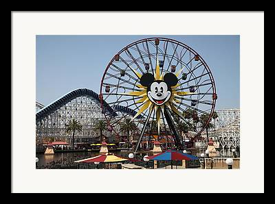 Disney California Adventure Framed Prints