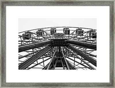 Ferris Wheel Framed Print by Andy Crawford
