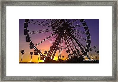 Ferris Wheel Framed Print by Chris Tarpening