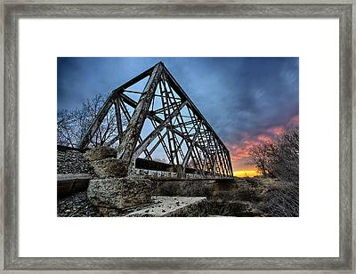 Ferrous Framed Print by Thomas Zimmerman
