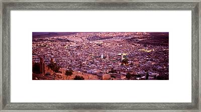 Fes, Morocco Framed Print by Panoramic Images