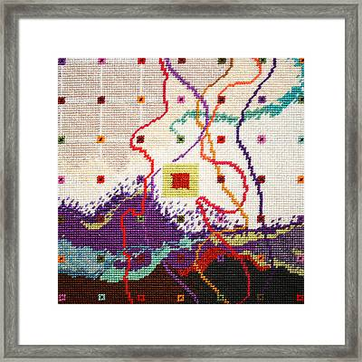 Festival Framed Print by Connie Pickering Stover