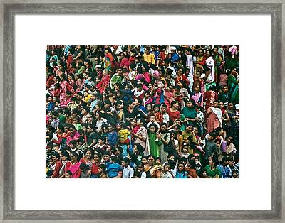 Festival Day Framed Print