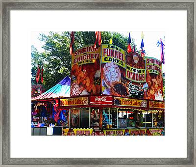 Festival Fun Framed Print