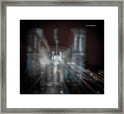 Festival Of Lights Framed Print by Stwayne Keubrick