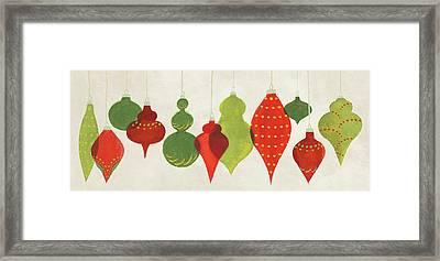 Festive Decorations Ornaments Framed Print by Danhui Nai