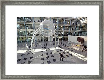 Festo Airjelly Framed Print