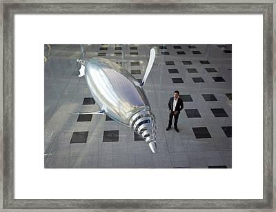 Festo Airpenguin Framed Print by Philippe Psaila