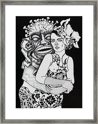 Fetish Girl Framed Print