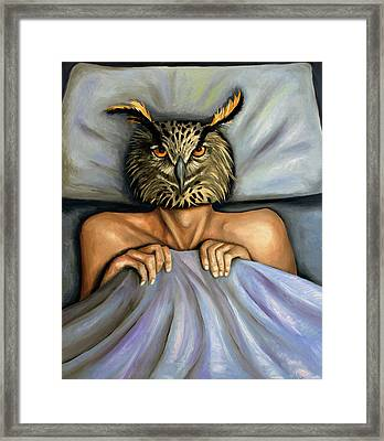 Fetish Nightmare 2 Framed Print by Leah Saulnier The Painting Maniac