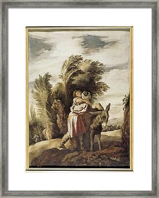 Fetti, Domenico 1588-1623. The Good Framed Print by Everett