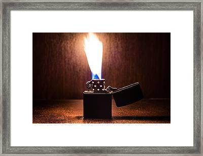 Feuer Framed Print by Tgchan