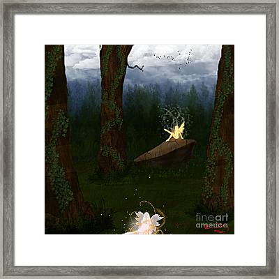 Fey Forest Framed Print