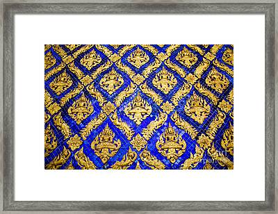 Fgure Of Deva  Framed Print by Tosporn Preede