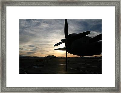 Framed Print featuring the photograph Fi-fi Power by David S Reynolds