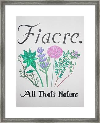 Fiacre Framed Print