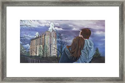 Fiance Framed Print by Jane Autry