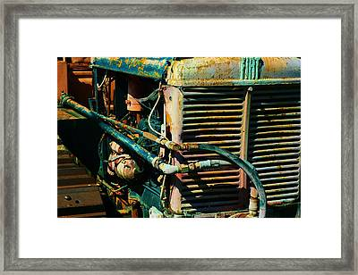 Fiat Part 1 Framed Print by TelAvivPaparazzi Photography