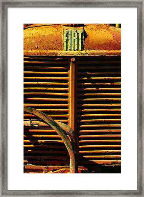 Fiat Part 2 Framed Print by TelAvivPaparazzi Photography