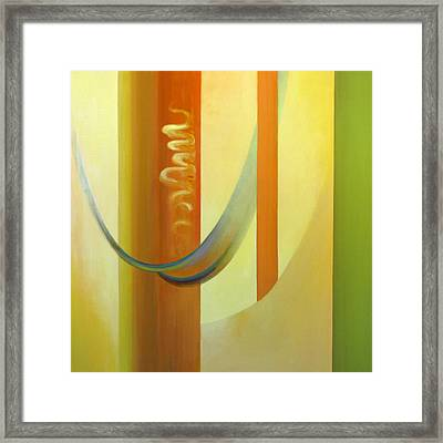 Fibonacci Fooey Factory One Framed Print