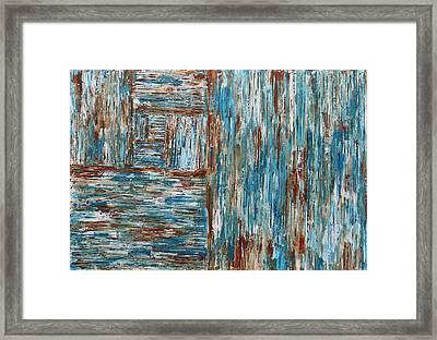 Fibonacci's Abstraction  Framed Print