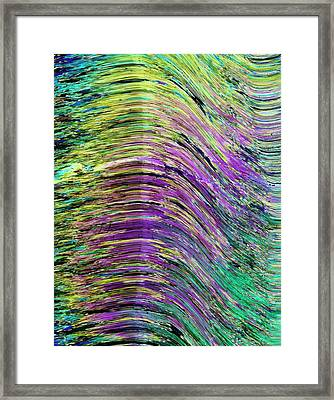 Fibrous Silicate Framed Print