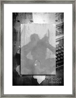 Fiction Framed Print by Edward Fielding