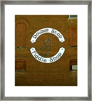 Fiddle Fixin' Framed Print