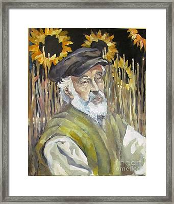 Fiddler On The Roof Framed Print by Michael Vaisman