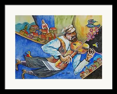 Fiddler On The Roof Framed Prints