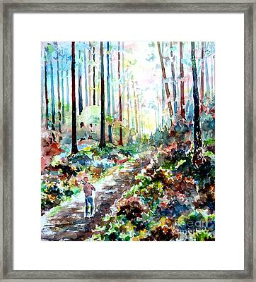 Fiddlers Walk II Framed Print