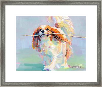 Fiddlesticks Framed Print by Kimberly Santini