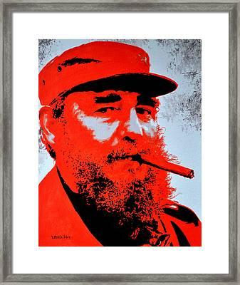 Fidel Castro Framed Print