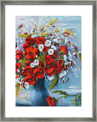 Field Bouquet 2 Framed Print