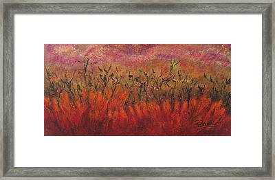 Field Dance Framed Print
