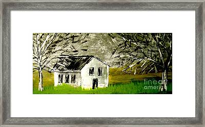 Field House Framed Print by Amy Sorrell