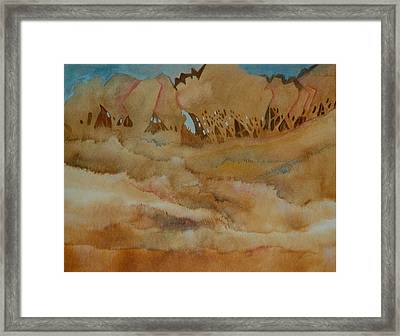 Field Framed Print