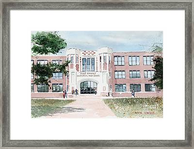 Field Kindley Memorial High School Framed Print