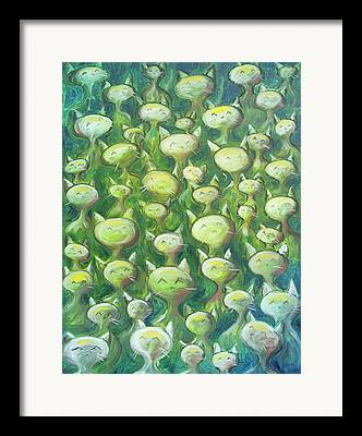 Stylized Paintings Framed Prints