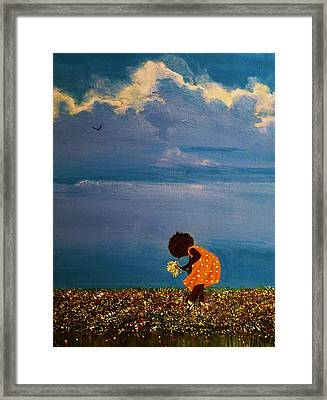Field Of Colors Framed Print