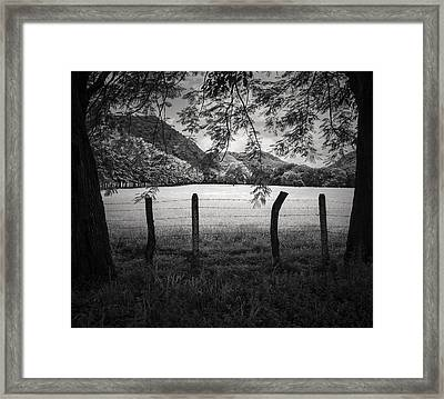 Framed Print featuring the photograph Field Of Dreams by Antonio Jorge Nunes
