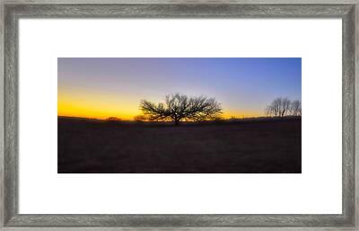 Field Of Dreams Framed Print