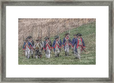 Field Of Honor American Revolution Framed Print