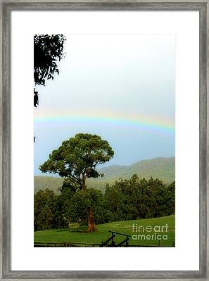 Field Of Promise Framed Print