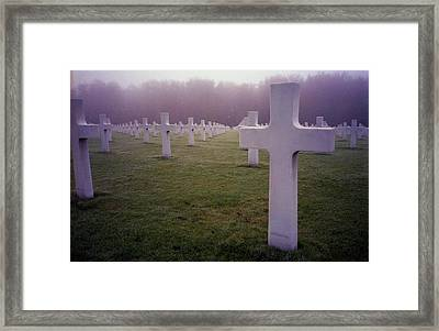 Field Of Sacrifice Framed Print
