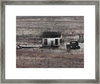 Field Treasures Framed Print by Kandy Hurley